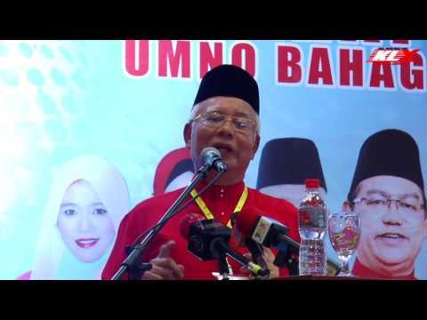 Mahathir Paksa Zahid Letak Jawatan Guna ISA - Najib Razak
