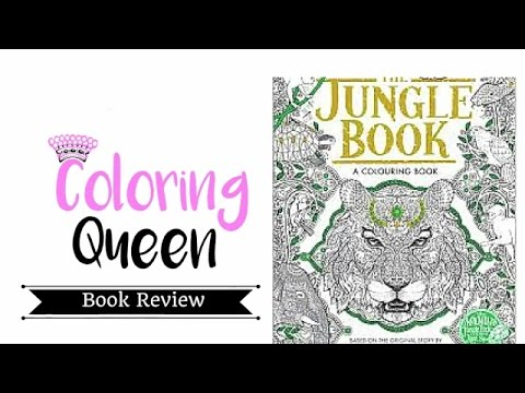 The Jungle Book - Colouring Book Review