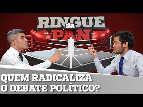 QUEM POLARIZA O BRASIL. LULA OU BOLSONARO?   RINGUE DA PAN #27