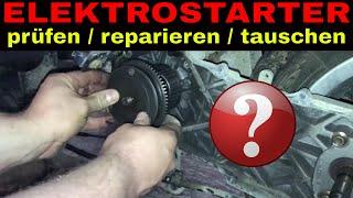 [TUTORIAL] Roller Elektrostarter / prüfen / reparieren / tauschen / E Starter