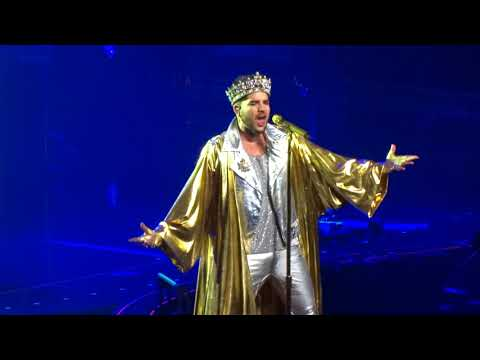 Queen & Adam Lambert, 3-12-2017, Glasgow, We Will Rock You & We Are The Champions.