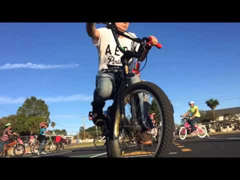 Bike rodeo at Oceano Elementary School