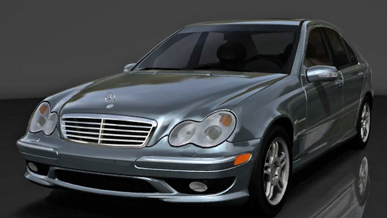 forza motorsport 2 mercedes benz c32 amg 2004 test. Black Bedroom Furniture Sets. Home Design Ideas