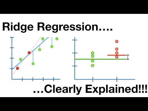 Regularization Part 1: Ridge Regression