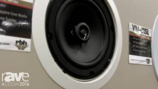 CEDIA 2016: RBH Sound Intros the VM-610 Visage Series 2-Way In-Wall Speaker
