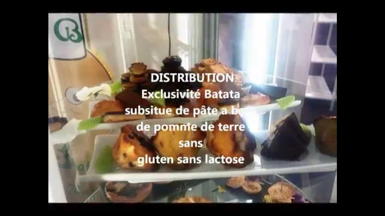 Download Batata substitue de pâte ultra innovant et breveté.sans gluten n'y lactose