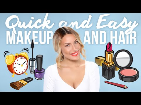 Quick & Easy Makeup & Hair Tutorial - Desi Perkins