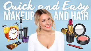 Quick & Easy Makeup & Hair Tutorial - Desi Perkins Thumbnail