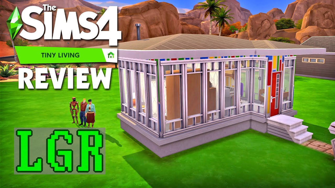 LGR - The Sims 4 Tiny Living Stuff Review thumbnail