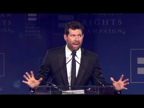 Billy Eichner Receives the HRC Visibility Award