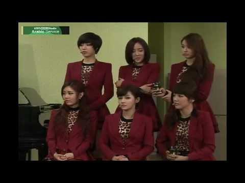 KBS WORLD Radio Arabic Interview with T-ara