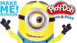 Play doh video Fun! Learn How To Make A Minion! l DANCING STEWART