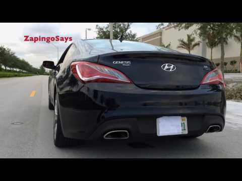 2013 Hyundai Genesis Coupe R-Spec Exhaust Notes