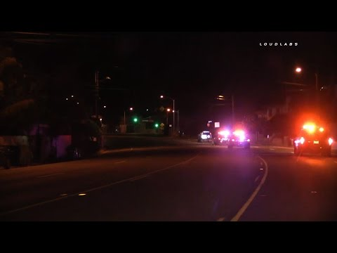 "Pursuit ""Caught on Camera"" / Monterey Park to Malibu  RAW FOOTAGE"