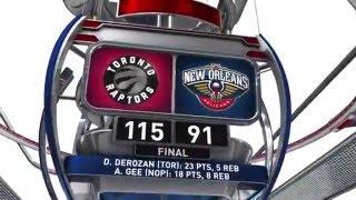 Toronto Raptors vs New Orleans Pelicans - March 26, 2016