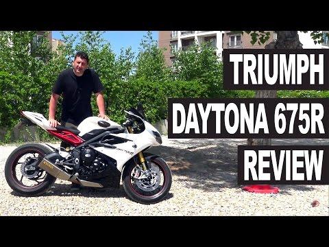 Triumph Daytona R Motorcycle Review