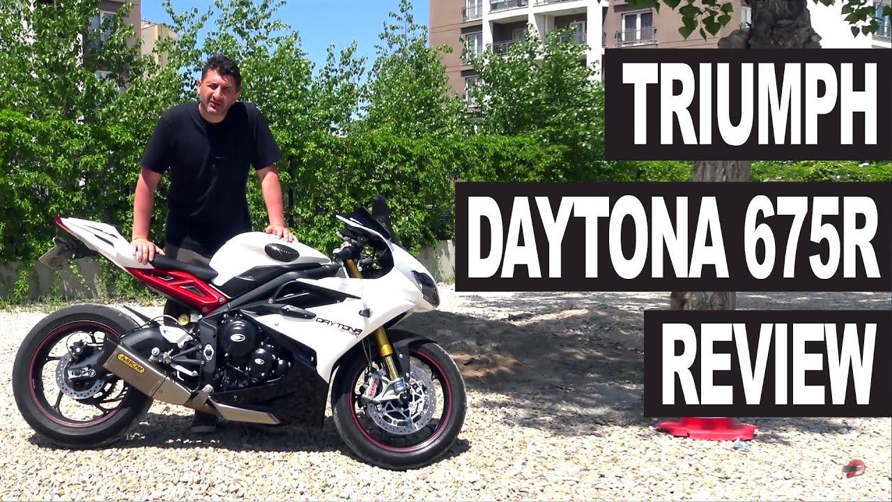 Triumph Daytona 675r Motorcycle Review Youtube