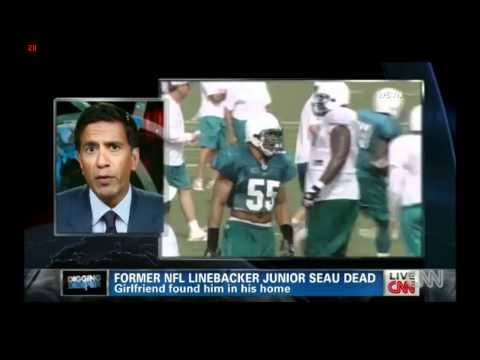 NFL Suicides Related to Traumatic Brain Injury - CNN Dr. Sanjay Gupta