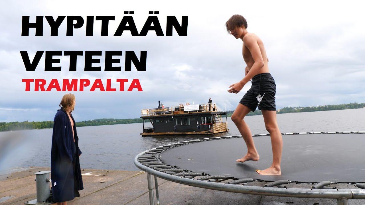 HYPITTIIN TRAMPALTA VETEEN ft. Arttu Laitinen, Lukakristiann