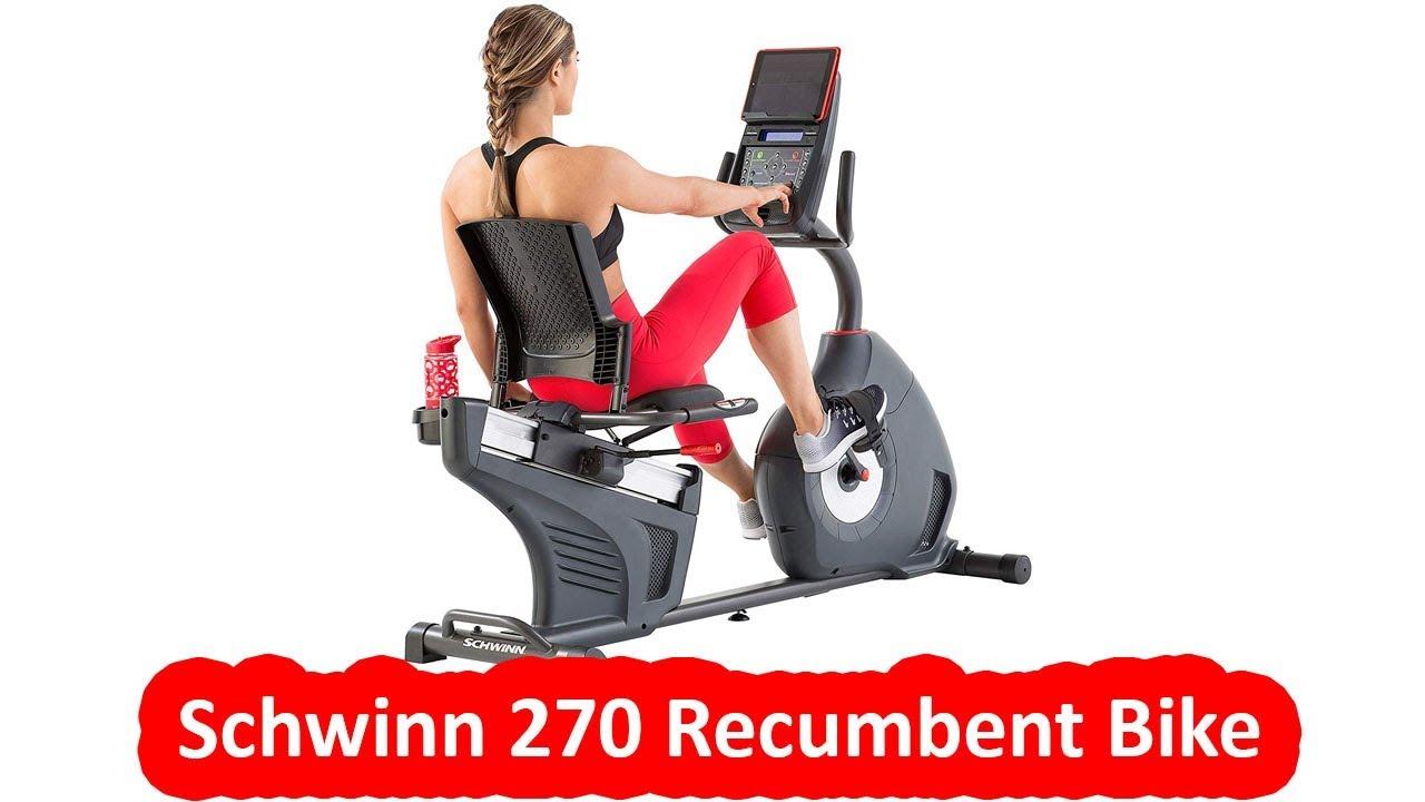 Schwinn 270 Recumbent Bike Best Recumbent Bike Under 600 Youtube