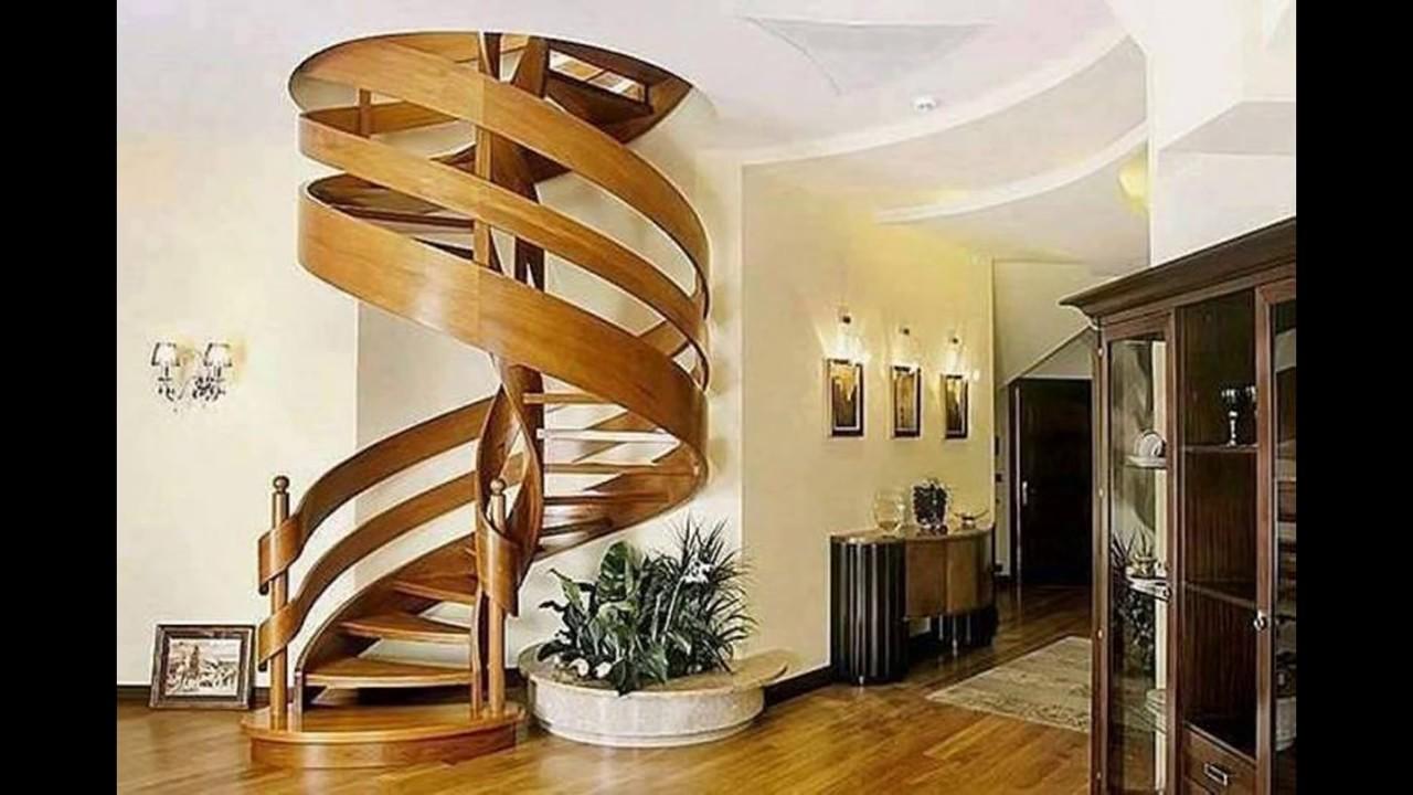 Round staircase designs interior for Round staircase designs interior