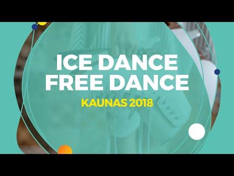 Nguyen Avonley /Kolesnik  Vadym (USA) | Ice Dance Free Dance | Kaunas 2018