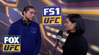 Brian Ortega talks with Megan Olivi about his fight strategy | INTERVIEW | UFC 231