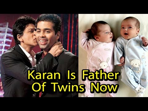 OMG !! Karan Johar Become Father Of Twin Babies Now (2017) Mp3
