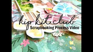 Scrapbooking Process #393 Hip Kit Club / Happy Laughs