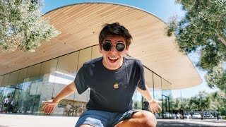 I visited Apple's Campus in Cupertino!
