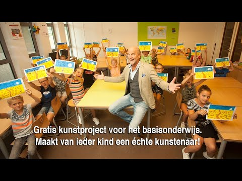 Verwonderlijk Bekijk, maak en waardeer kunst. Creatief scholen project. - Kunstweken GT-16