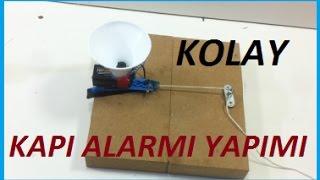 Gambar cover Basit Kapı Alarmı Yapımı-Hobi Amaçlı Siren Yapımı