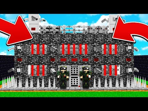 HOW TO BUILD THE WORLD'S MOST PROTECTED MINECRAFT BASE!