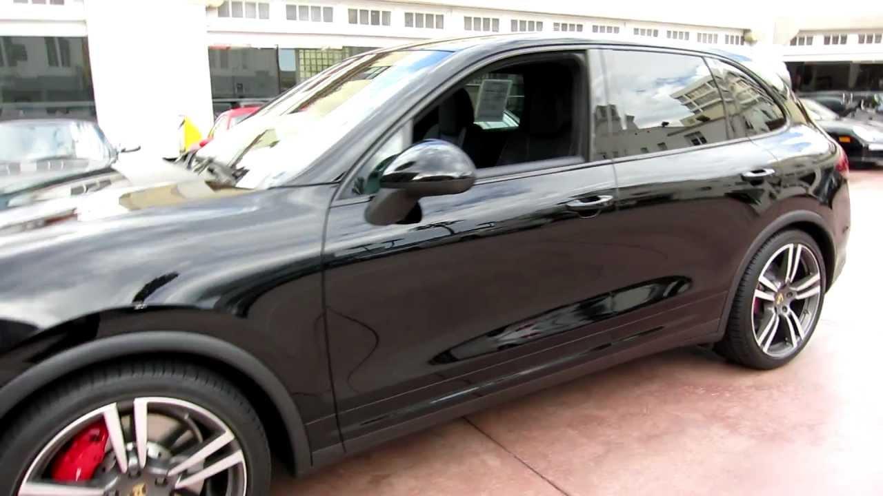 2011 Porsche Cayenne Turbo Black Beast Burmester Turbo Ii For Sale In Beverly Hills Make Offer Youtube