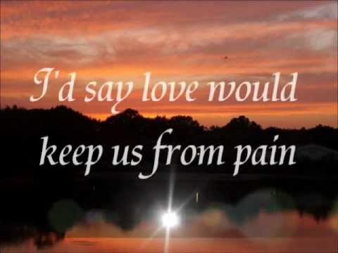 ❤❤❤George Michael - A Different Corner - Lyrics❤❤❤.flv