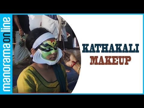 This little Kathakali artist impressed all with her make-up skills | Manorama Online
