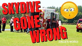Horrible Skydive Crash CAUGHT ON VIDEO: Skydive City Zephyrhills FL