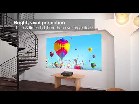 The EH-LS100 projector from Epson - cinema at home