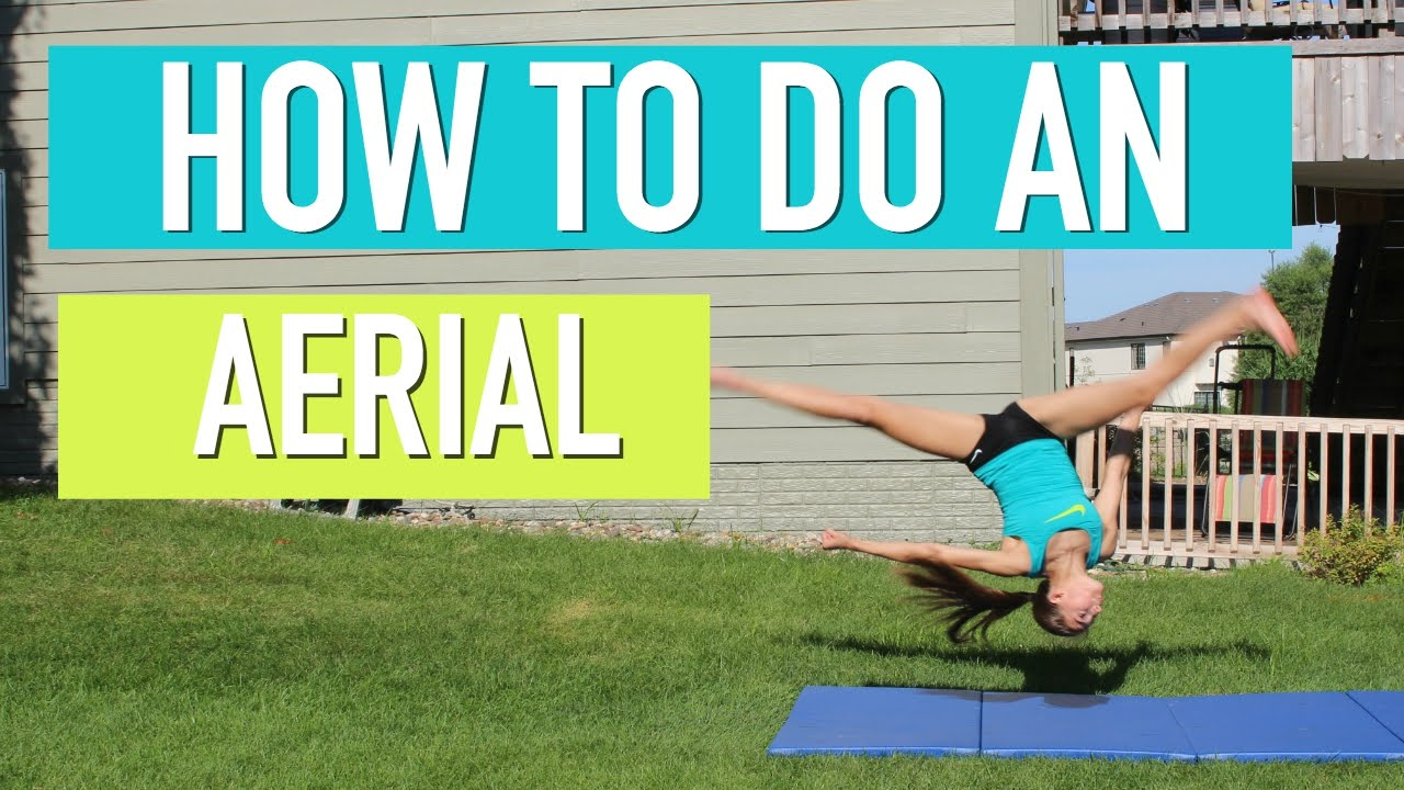 how to do an aerial youtube