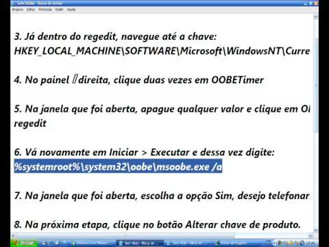 Validando Windows XP =)