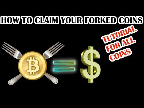TUTORIAL: HOW TO CLAIM YOUR FORKED CRYPTOCURRENCY COINS! (MoneroV, Bitcoin Private, GOLD etc.)