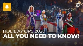 World of Tanks - Holiday Ops 2020 - HUGE XP discounts!