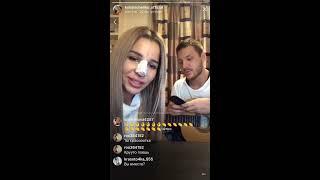 Катя Колисниченко поёт с бывшим, Instagram 06-10-2017