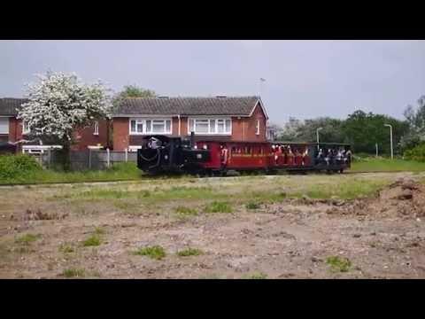 Baldwin 778 Leighton Buzzard Narrow Gauge Steam Preserved Railway May 2016