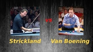 Shane Van Boening vs Earl Strickland on 10 Foot Diamond Pool Table