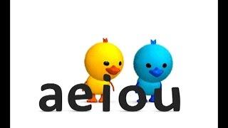 Las Vocales A E I O U  - Canción Infantil Educativa - La Pelota Loca