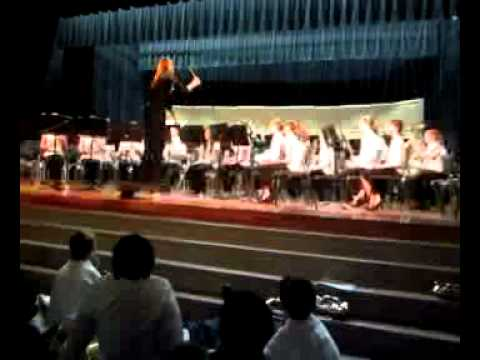 "Lyons Middle School Band Plays ""The Gathering of the Yeomen"""