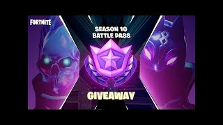 "Fortnite [PS4] | Season X BP Gift Giveaway @3k Subs! | USE CODE ""ItsTempted"" IN SHOP! 