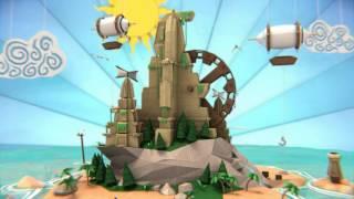 [HD] Papercraft Island