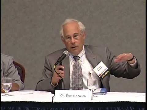 CBC Roundtable Discussion with Dr. Don Berwick in Cincinnati, Ohio